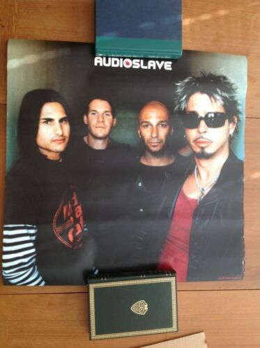 Vintage Audioslave Poster 2002 Chris Cornell Rage Against Machine Soundgarden