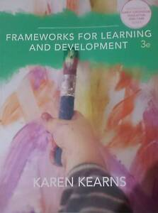Frameworks For Learning and Development - 3rd Edition Richmond Yarra Area Preview