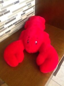 """Red Lobster 20"""" Plush Toy by Creature Comforts"""