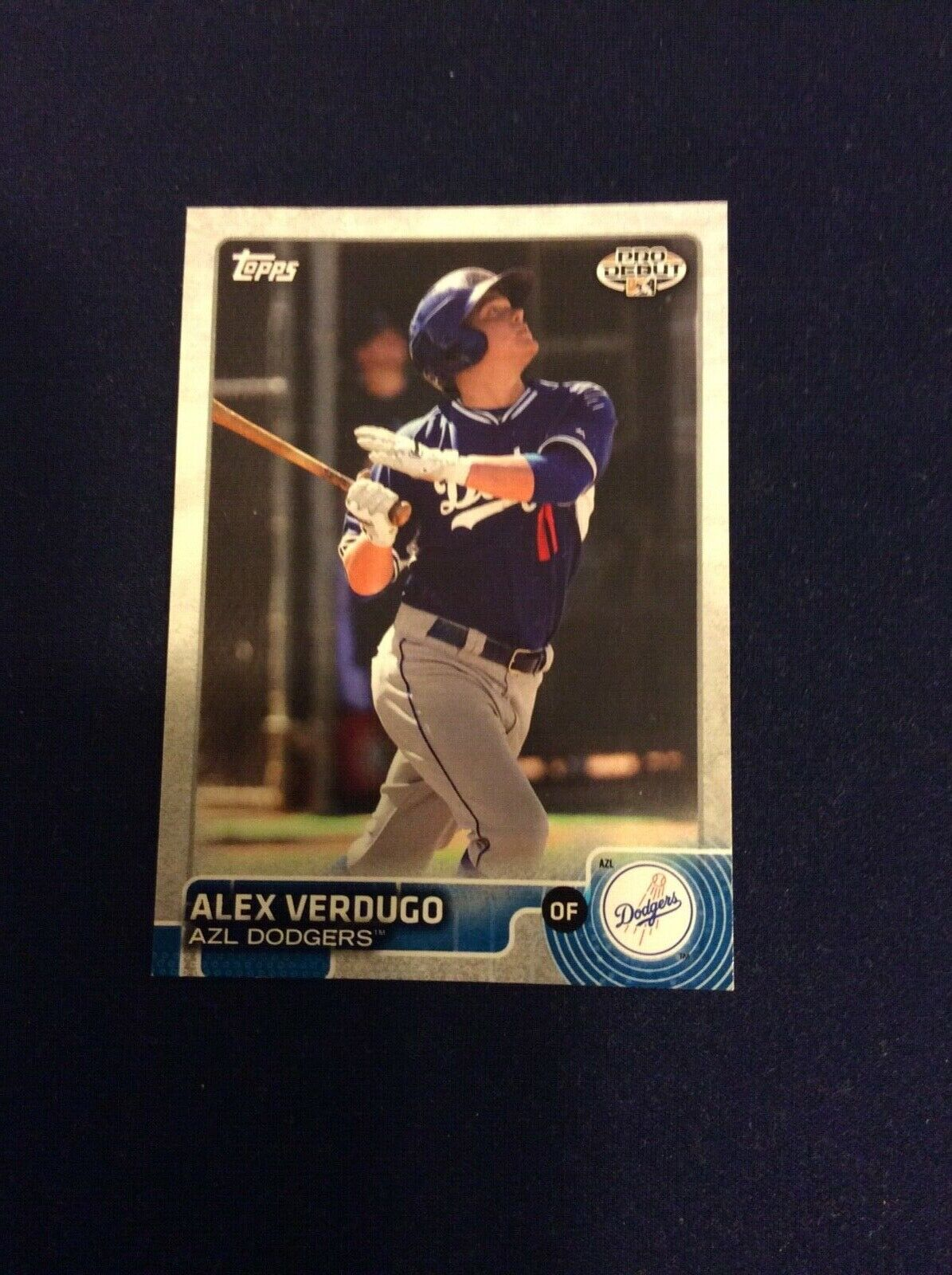 2015 Topps Pro Debut 5 Alex Verdugo Dodgers, Red Sox - $3.00