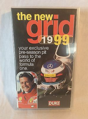 "Collectable Formula 1 ""The New Grid 1999"" VHS Video Schumacher, Hakkinen"