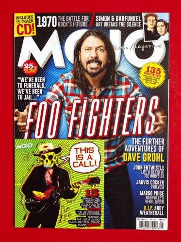 MOJO MAGAZINE UK May 2020   FOO FIGHTERS Simon & Garfunkel    With CD
