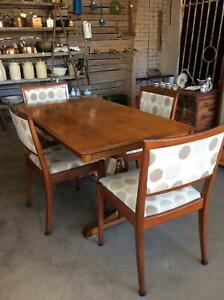 Antique Vintage Oak Dining Table