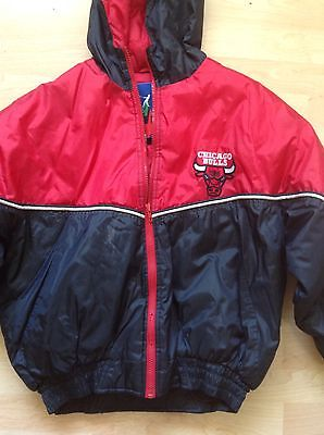 Vintage 90's Fans Gear Youth Size Large 16-18 NBA Chicago Bulls Jacket
