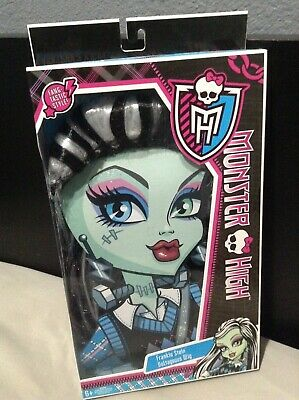 Girls MONSTER HIGH Frankie Stein Voltageous Wig Costume Wigs Dress Up BNIB! NEW