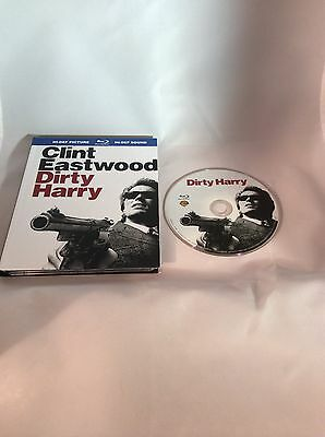 Dirty Harry (Blu-ray Disc, 2008) Digibook