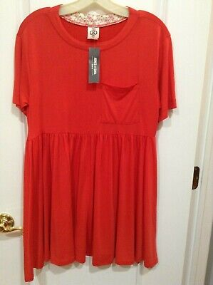 Agnes & Dora Women's Size Small Kahlo Dress Orange New with Tags