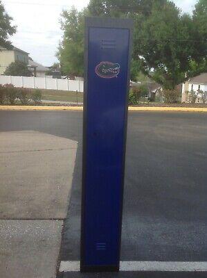 Florida Gator Metal Storage Gym Locker Go Gators Brand New 72x18x12