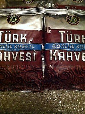 Turkish Coffee Mastic flavored KAHVE DUNYASI 8 crew*100 g (3.4OZ) fresh 800g