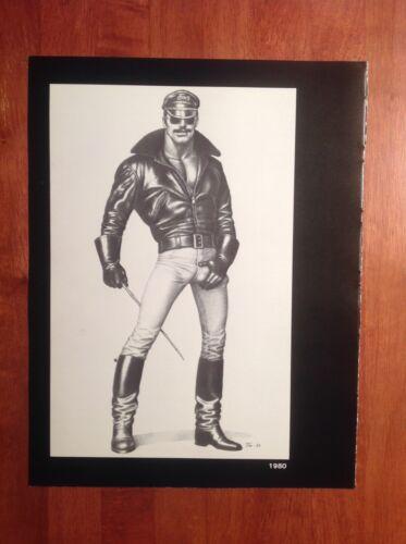 Art Page/Print TOM of FINLAND Book Retrospective#1 - 1988 Cane Sauna TF144