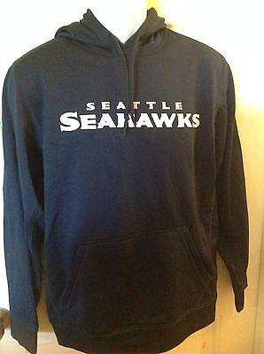 Nike Seattle Seahawks Performance KO Wordmark Essential Hoodie Mens Small (Seahawks Nike Ko Hoodie)