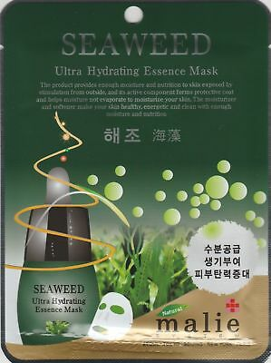 Malie Ultra Hydrating Essence Mask Pack Korea Masksheet cosmetics SEAWEED 1 pcs