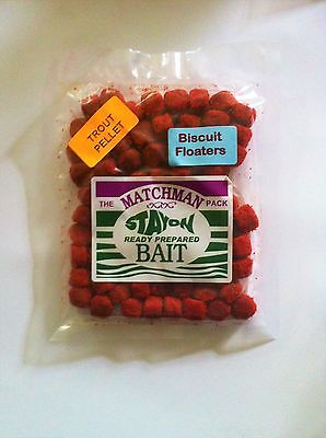 Biscuit Floaters (Trout Pellet) Ready floating Bait for Carp and Coarse Fish