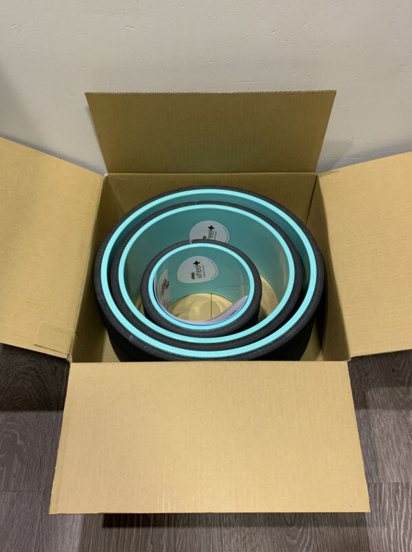"""NEW Chirp Wheel+ Set 3 Pack (6"""", 10"""", 12"""") Back Roller & Stretch -SAME DAY SHIP-"""