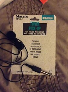 Matrix  MPU-2  Tuner Pick-up & Traynor Metronome Tuner