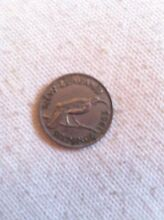 1953 six pence New Zealand coin Claremont Meadows Penrith Area Preview