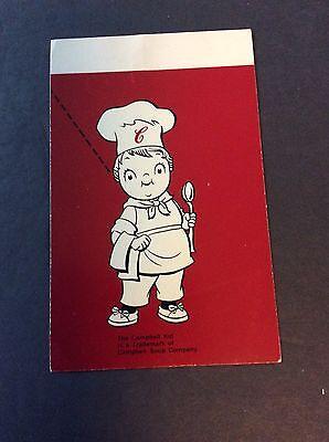 Campbells Soup Company Campbell Kid Trademark Postcard