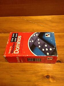 Dominos toy game Double Six Wooden Dominos Windsor Region Ontario image 2