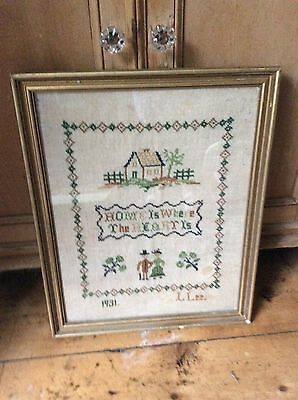 Antique 1931 sampler