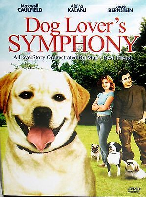 - Dog Lover's Symphony DVD,Family Movie Love Dogs,Maxwell Caulfield,90 Mins Gift