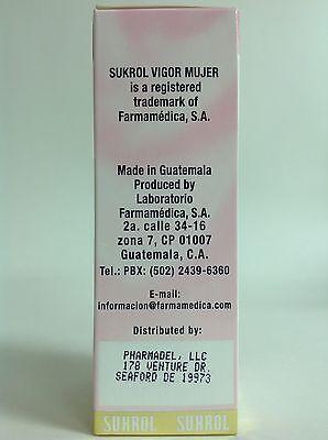 2 SUKROL VIGOR WOMAN DIETARY SUPPLEMENTS 30 TABS / SUKROL VIGOR MUJER 4