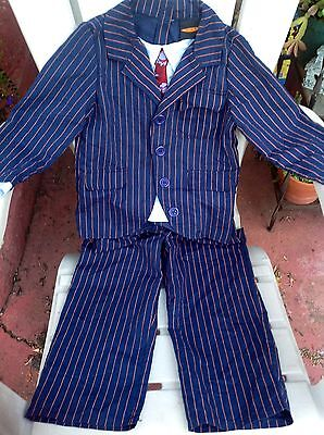 EURO BBC 10TH DR DOCTOR WHO DAVID TENNANT COSTUME SUIT PANTS CHILD BOYS S 5 - Dr Who Child Costume