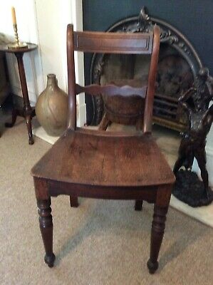 GEORGIAN FRUITWOOD EAST ANGLIAN CHAIR CIRCA 1780-1820's...