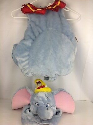 Disney Store Dumbo & Timothy Complete Halloween Costume Infant Toddler 12-18 Mos](Dumbo Baby Costume)