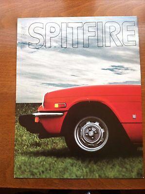 1976 TRIUMPH SPITFIRE SALES BROCHURE, ORIGINAL ITEM, NOT A RE-PRINT