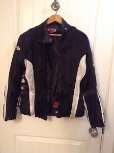 Motorcycle jacket and boots