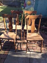 4 X Melbourne Chair Company Antique Chairs Brunswick Moreland Area Preview