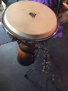 Latin Percussion Djembe with stand