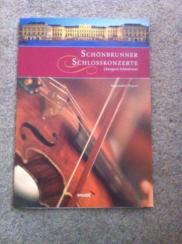 Schonbrunner Schlosskonzerte CONCERT PROGRAMME 2006 Classical Music Wien Austria