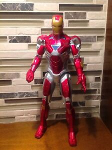 "2010 Marvel Iron Man 10"" Talking Action Figure by Hasbro"