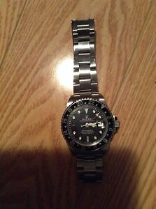 Men's stainless steel Rolex watch
