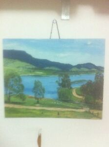 Landscape Painting -Goodradigbee River by CFN Longfield  (artist) Dee Why Manly Area Preview