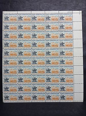 1176 Range Conservation  Full Sheet Of 50  Mnh Og