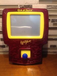 Ohio Art Freestyle Joystick Handheld Etch-A-Sketch Game Red