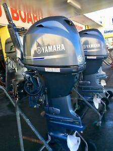 60hp Yamaha Outboard Motor 4 Stroke Tiller Steer S2828 Southport Gold Coast City Preview