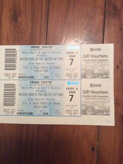 2x Xavier Rudd and the United Nations tickets for Enmore Theatre Valley Heights Blue Mountains Preview