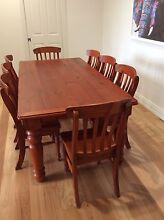 9 Piece Dining Setting Wallsend Newcastle Area Preview
