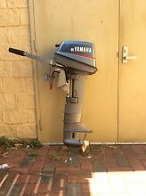 MUST GO 8HP YAMAHA OUTBOARD MOTOR Swanbourne Nedlands Area Preview