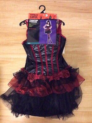 Womens Teen Totally Ghoul Vampire Dancer Costume Teen One Size Halloween