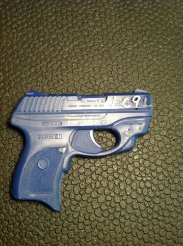 Rings Blue Gun Ruger LC9 with Laser