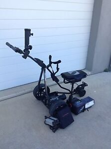 Electric golf buggy with lithium battery Black Mountain Noosa Area Preview