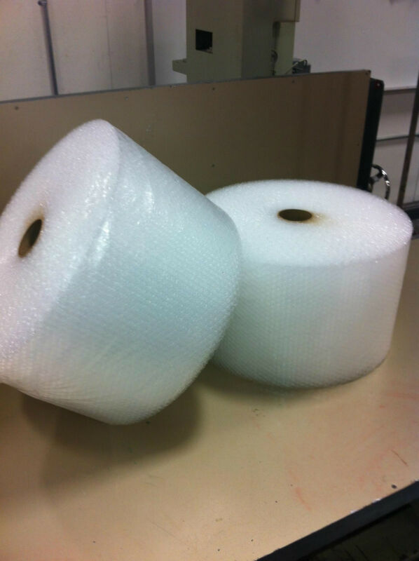 """3/16"""" x 12"""" Small Bubbles Perf 12"""" 700 ft bubble cushioning wrap padding roll"""