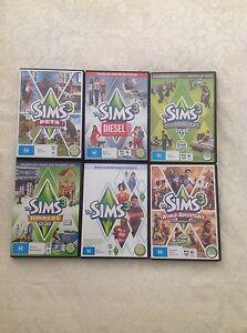 The Sims 3 plus expansion packs Carlton Kogarah Area Preview