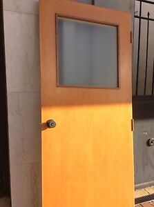 DOOR with GLASS TOP PANEL OBSCURED Mosman Park Cottesloe Area Preview