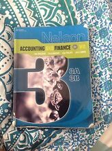 Accounting and finance 3ab textbook Morley Bayswater Area Preview