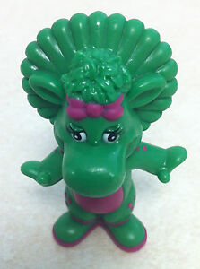 BARNEY-amp-FRIENDS-BABY-BOP-THE-DINOSAUR-2-034-PVC-FIGURE-CAKE-TOPPER-TOY